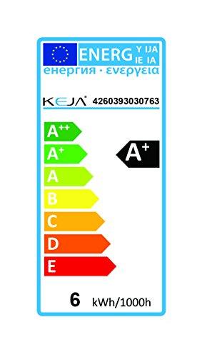 LED FACTORY 6W E14 LED Lampen 480lm Warmweiß, Ersatz für 60W Glühlampen, 2800K, 120° Abstrahlwinkel, LED Birnen, LED Leuchtmittel, 6er Pack - 5
