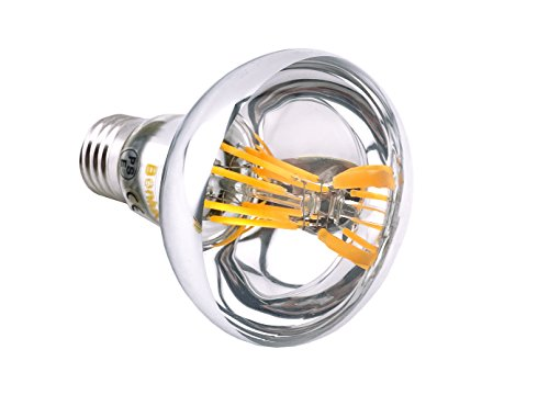 Bonlux R80 LED E27 Dimmbar Glühbirne 8W Warmweiß 2700K 700 Lumen wie 60W herkömmliche Gelühbirne R80 E27 LED Reflektorlampe für Wohnzimmer, Schlafzimmer , Allgemeinbeleuchtung (2-Stück) - 4