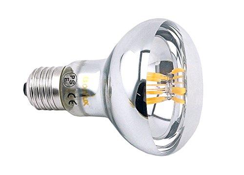 Bonlux R80 LED E27 Dimmbar Glühbirne 8W Warmweiß 2700K 700 Lumen wie 60W herkömmliche Gelühbirne R80 E27 LED Reflektorlampe für Wohnzimmer, Schlafzimmer , Allgemeinbeleuchtung (2-Stück) - 3