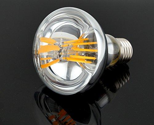 Bonlux R80 LED E27 Dimmbar Glühbirne 8W Warmweiß 2700K 700 Lumen wie 60W herkömmliche Gelühbirne R80 E27 LED Reflektorlampe für Wohnzimmer, Schlafzimmer , Allgemeinbeleuchtung (2-Stück) - 5