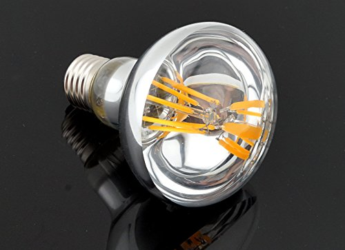 Bonlux R80 LED E27 Dimmbar Glühbirne 8W Warmweiß 2700K 700 Lumen wie 60W herkömmliche Gelühbirne R80 E27 LED Reflektorlampe für Wohnzimmer, Schlafzimmer , Allgemeinbeleuchtung (2-Stück) - 6