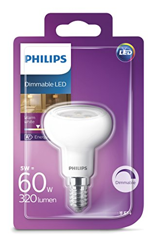 Philips LED Lampe ersetzt 60 W, E14, warmweiß (2700K), 320 Lumen, Reflektor, dimmbar - 2