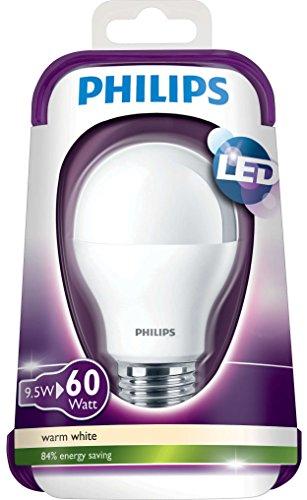 Philips LED-Lampe (ersetzt 60 Watt), EEK A, E27 2700 Kelvin – warmweiß, 9 Watt, 806 Lumen - 5