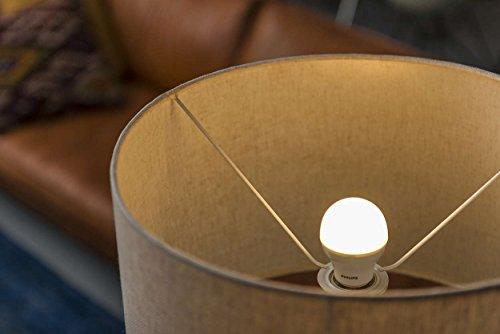 Philips LED-Lampe (ersetzt 60 Watt), EEK A, E27 2700 Kelvin – warmweiß, 9 Watt, 806 Lumen - 6