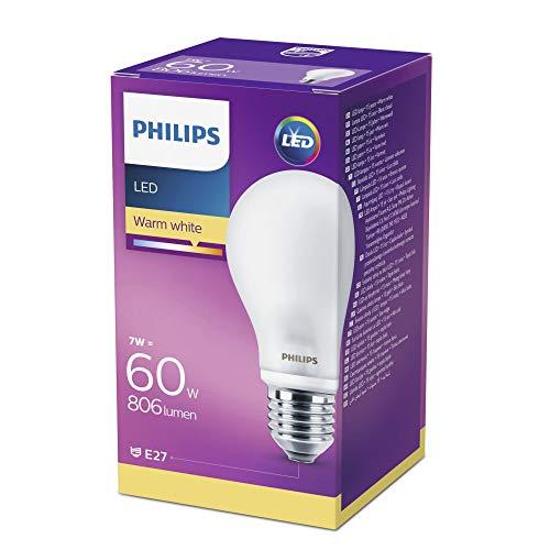 Philips LEDclassic Lampe ersetzt 60 W, EEK A++, E27, warmweiß (2700 Kelvin), 806 Lumen, klar, 8718696472187 - 2
