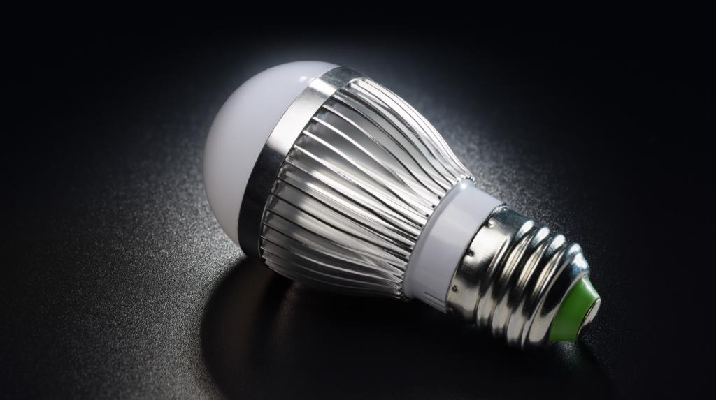 Mit LED-Glühbirnen Strom sparen
